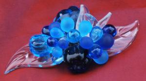 fruit de couleur en cristal